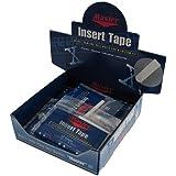 挿入テープホワイトTextured 1 / 2インチ表示ボックス/ 12 – ホワイト/ 1 / 2