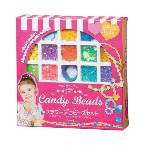 キャンディビーズ フラワーデコビーズセット CBB-003