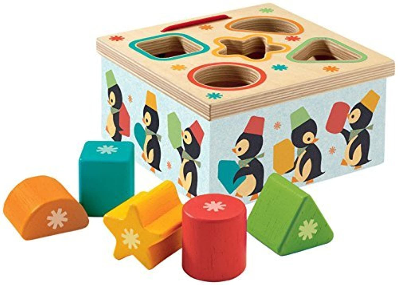 Djeco DJ06409 Early Development- Geo Pingy Baby Toy [並行輸入品]