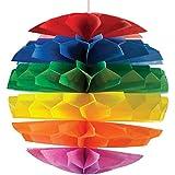 Multi-Color Diecut Paper Honeycomb Ball マルチカラーダイカットペーパーハニカムボール?ハロウィン?クリスマス?