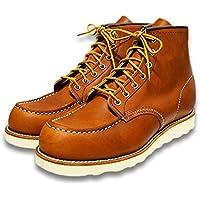 "【RED WING/レッドウイング】「6 inch Classic Work Boots""Moc Toe""/6インチクラシックワークブーツ""モックトゥ""」(875/Oro""Legacy"")"