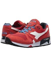 Diadora(ディアドラ) メンズ 男性用 シューズ 靴 スニーカー 運動靴 N9000 III - Pompeian Red/Riviera/Midnight Navy [並行輸入品]