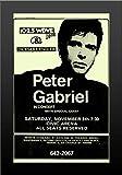 11?x 17フレーム入りポスター印刷Peter Gabriel atシビックArenaコンサート1995
