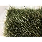 ふわふわ フェイクファー 生地 貉 毛足長い 獣毛に近い風合い 手芸・裁縫・装飾用素材 160cm*20cm