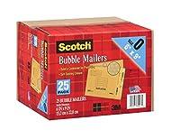 Scotch 3M Bubble Mailers Size 0 (6 x 9) - 25ct by Scotch