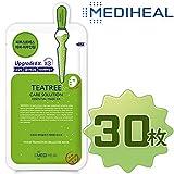 【正規輸入品】Mediheal メディヒール ティーツリーケアソリューション・エッセンシャル・マスクパック10枚入り3箱 [並行輸入品]