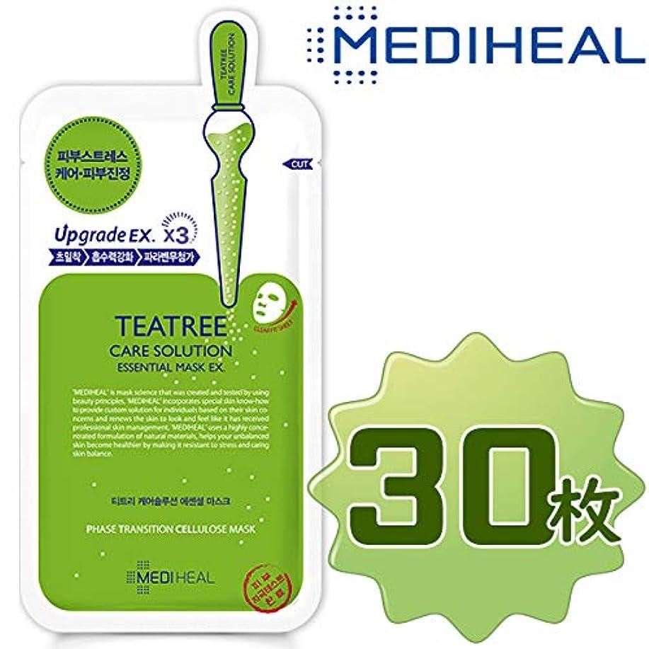 幾分ユニークな嬉しいです【正規輸入品】Mediheal メディヒール ティーツリーケアソリューション?エッセンシャル?マスクパック10枚入り3箱