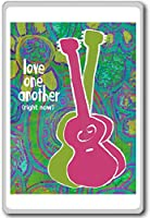 Love One Each Other (Right Now) - Motivational Quotes Fridge Magnet - ?????????