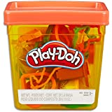 Play-Doh - Fun Tub inc 5 Tubs of Dough and 18 acc - Creative Kids Toys - Ages 3+