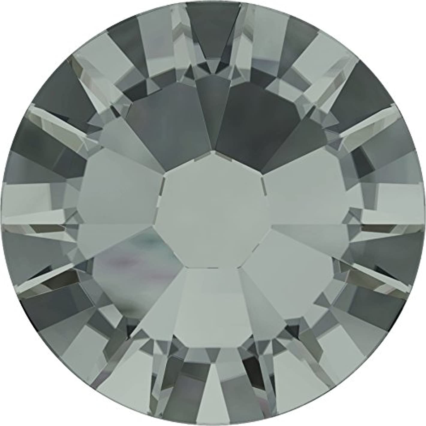 知覚できる講義不忠ネイルアートパーツ ブラックダイヤモンド SS5:1.8~1.9mm 1440P