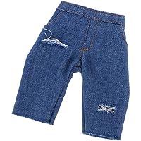 Dovewill 1/6スケールBJDSDドール適用 素敵 ジーンズ ズボン 服 アクセサリー