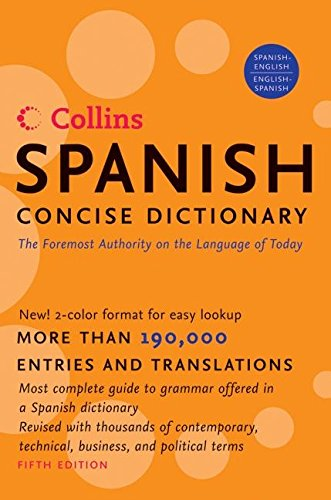 Download Collins Spanish Concise Dictionary, 5e 0061141844