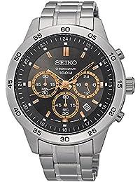 [セイコー]SEIKO 腕時計 ウォッチ クロノグラフ sks521p1 100M防水 ハードレックス ビジネス シンプル メンズ (グレーピンクゴールド) [並行輸入品]