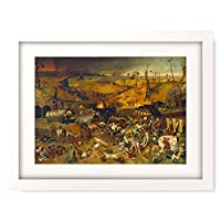 ピーテル・ブリューゲル(父) Pieter Bruegel (Brueghel) de Oude 「Triumph of Death. About 1562」 額装アート作品