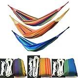 FTA ハンモック 安心の日本製ロープ(3m)2本とスペア用ロープ(2m)2本付属(収納袋付)【FTAダイレクトオリジナルセット】