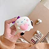 Airpods Pro Case, Gtinna 3D Cute Cartoon Soft Silicone Airpods Pro Cover, Kawaii Fun Cool Keychain Design Skin Headphone Case for Apple Airpods Pro Charging Case (Girl Love)