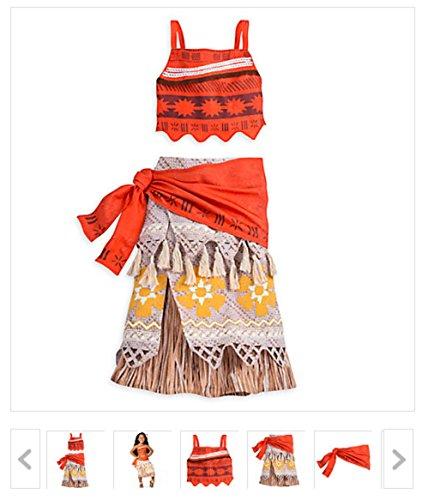 Disney (ディズニー) モアナと伝説の海 キッズ 女の子用衣装 ディズニーオリジナル商品 (9/10)
