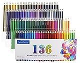 油性色鉛筆 サウスサン カラーペン 塗り絵 136色セット SSOP-136
