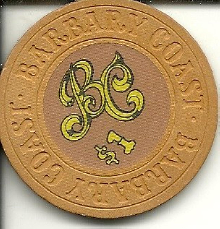 $ 1 Barbary Coastラスベガスカジノチップヴィンテージ