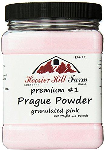 Hoosier Hill Farm (フージャー ヒル ファーム) プラハ パウダーNo. 1 塩漬け用塩ピンク 約1.13kg入り (インポート)