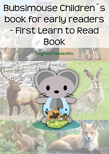 Bubsimouse Children's book for early readers - First Learn to Read Book: A free children's book with easy stories for beginner readers (English Edition)