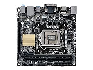 ASUSTeK Intel H110搭載 マザーボード LGA1151対応 H110I-PLUS 【Mini-ITX】