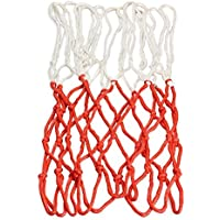 yothgバスケットボールネット、1個50 cm 13ループポリプロピレンHeavy Dutyメッシュ交換標準屋内または屋外のリム