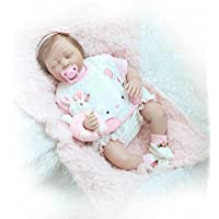 新しい実Looking Reborn女の子ベビー人形Lifelike 50 CM Slepping Babies Toys for Kids
