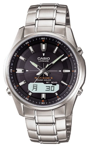 LCW-M100D-1AJF CASIO カシオ  LINEAGE リニエージ ソーラー電波時計 LCWM100D1AJF