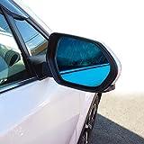 プリウス50系 ブルーミラーレンズ ブルーレンズ サイドミラー ドアミラー 防眩 専用設計 左右セット 2P パーツ