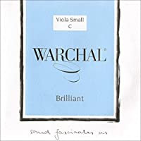 Warchal Brilliant 15-16 Viola C String - Silver Wound/Synthetic - Medium Gauge [並行輸入品]