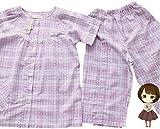 【mamy care】これは使える 便利 でおすすめ オシャレな介護用 パジャマ 関節を無理に動かすことなく着替えも楽々 排泄介助や更衣時の負担も軽減 夏物 半袖 女性用 (L)