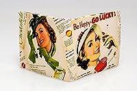 財布 ウォレット 二つ折り財布 メンズ レディース おもしろ雑貨 タバコ ポスター プリント プレゼント