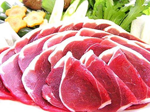 島根 天然ジビエ いのしし肉 モモ(スライス)500g