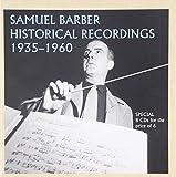 「サミュエル・バーバー(1910-81)の歴史的録音集1935-1960」 画像