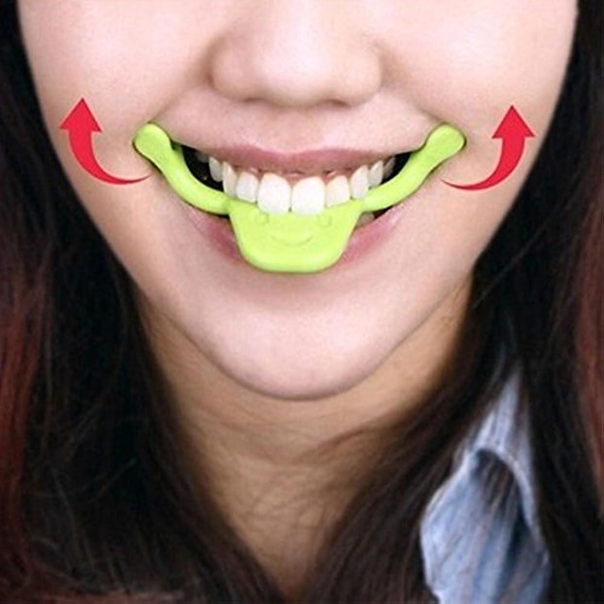 素人弾薬基本的なRaiFu スマイル矯正器 リフトアップ マウスピース 小顔サポート フェイススリマー 表情筋トレーニング 健康グッズ 笑顔 メーカー ビューティーケア
