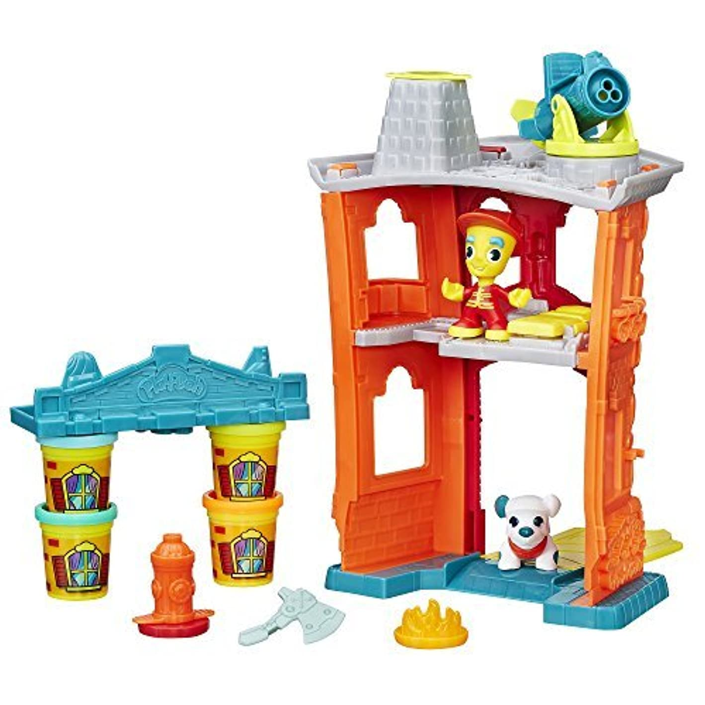 Play-Doh Town Firehouse [並行輸入品]