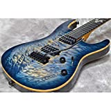 Suhr サー / Modern Carve Top Faded Trans Whale Blue Burst