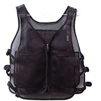 Ice Vest 6 Cooling Pack Short Jacket Cool Clothing Summer Heat Protection