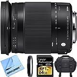 Sigma 18-300mm F3.5-6.3 DC Macro HSM Lens (Contemporary) for Sony Alpha Cameras includes Bonus Sigma Close-Up Lens and More [..