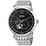 Hugo Boss Signature Timepieceコレクション1513507自動メンズ腕時計Classic & Simple