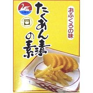 西日本食品工業 白鳥印 たくあん漬の素 80g×30箱