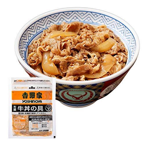 吉野家 [大盛 牛丼の具 175g×30袋セット] 冷凍便 (レンジ・湯せん調理OK)