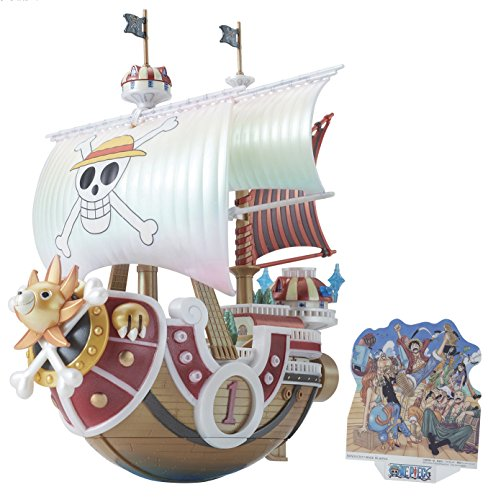 One piece the great ships (Grand ship) collection Southend / sunny No. Memorial color ver.... Plastic model