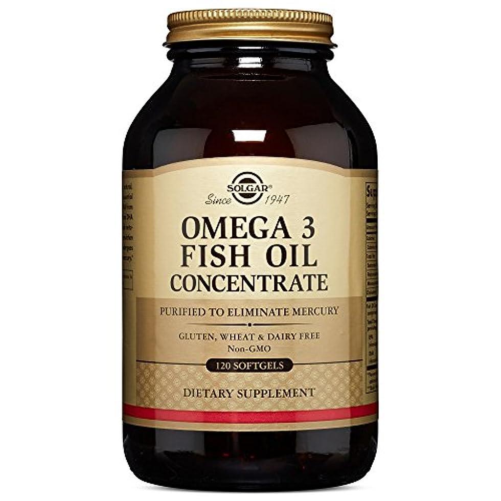 傾向放棄にやにやOMEGA3 FISHOIL Concentrate オメガ3 濃縮魚油 120 softgel (120ソフトジェル)