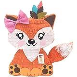 apinata4u Fox Pinata withピンクBow Tribal Party Pinata