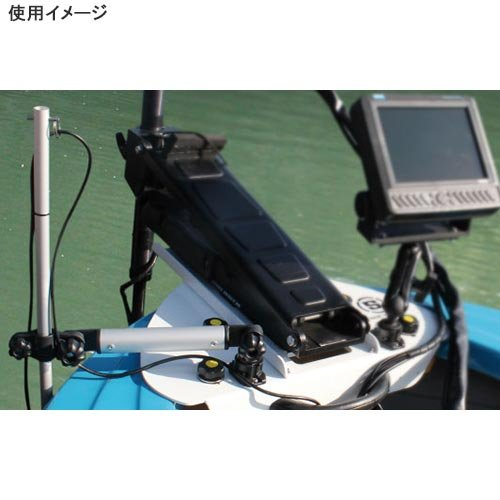 BMO JAPAN(ビーエムオージャパン) デッキ用フィッシュセンサーアーム250SSベース BM-PCL-SET-SS250