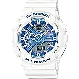 [カシオ] CASIO G-SHOCK 腕時計 デジアナ GA-110WB-7A (GA-110WB-7AJF 同型) ホワイト×ライトブルー [並行輸入品]