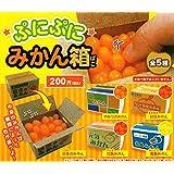 ぷにぷにみかん箱 全5種セット ガチャガチャ
