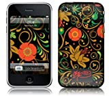Msic Skins iPhone 3G/3GS用フィルム SSUR – Khokloma Color iPhone 3G/3GS MSFSIP3G0129